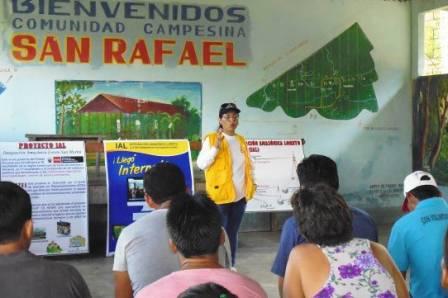 Inicio de actividades de difusión y sensibilización para el proyecto IAL